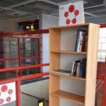 Sturestaden har installerat bokcirkel på Arboga station