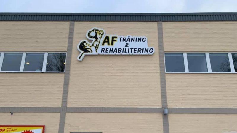 AF Träning & Rehabilitering har öppnat portarna i nya lokaler